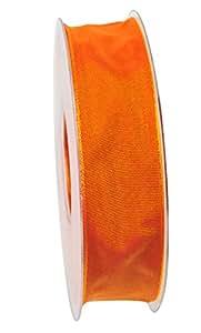 Da Vinci artfleur 带钢圈丝丝带 宽25mm 25m卷 9660 Original 橙色