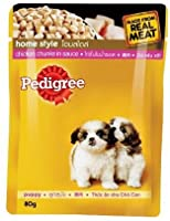 Pedigree Puppy Gravy Pouch, 1.2kg (Pack of 15)