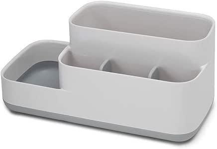 Joseph Joseph 浴室便捷存储托盘,白色/灰色