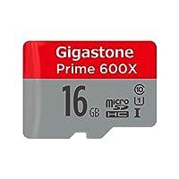 Gigastone gs-2in1600X 40.64cm gb-r 16GB Micro SD 卡 U1MEMORY & 适配器 16GB