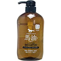Squeeze Corporation 马油 保湿成分 无硅洗发水 600毫升