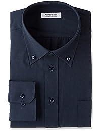 Atelier365 藏青色衬衫 黑色衬衫 长袖衬衫 男士 衬衫 礼服衬衫 纯色 剪裁衬衫 制服