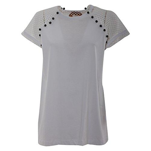 女人做���-yf�[N[ _n°21 n°21 女人 f05141571101 白色 棉 t恤 / 意大利直邮【亚马逊海