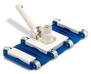 Swimline 加重弹性真空头,蓝色 1-(Pack) 8150