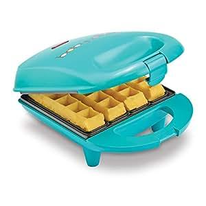 Babycakes 华夫饼机,迷你 绿色 1-(Pack) WMM-40