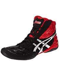 ASICS Split Second 9 男士摔跤鞋 Red/Silver/Black 10 M US
