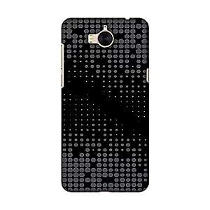 AMZER 纤薄时尚搭扣硬质壳后盖屏幕护理套件 华为 Y5 2017AMZ601040499225 Carbon Fibre Redux 13
