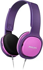 Philips 飞利浦 SHK2000PK儿童耳机头戴式双耳儿童礼品立体声