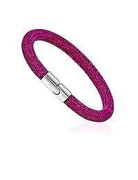 施华洛世奇星灰紫红色女式手镯 5092091