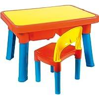 Androni 玩具8901-0000 - 多色桌子,配椅子 - 无访问