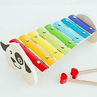 木马智慧 婴幼儿音乐启蒙玩具 早教益智敲打乐器小狗八音琴 12654