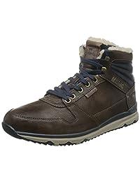 Mustang 男 High Top Sneaker户外运动靴 4095-601
