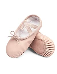 STELLE 优质女童芭蕾舞鞋、舞蹈/体操平底鞋(幼儿/小童)