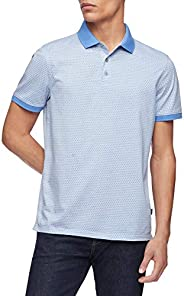 Calvin Klein Liquid Touch 男士短袖Polo衫,具有防紫外线功能