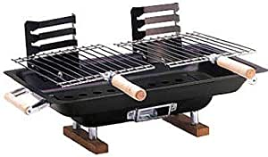 Kay Home Products 30002 Hibachi Grill, Steel, 10 x 17-In. 6