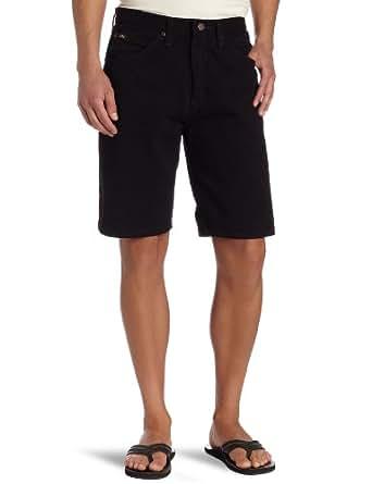Lee 男式常规款牛仔短裤 双黑色 29