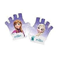 冰雪奇缘女孩自行车手套,紫色,XS