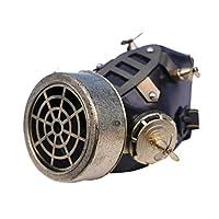 Arsimus 蒸汽朋克防毒面具,带 4 个风扇