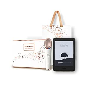 飞利浦 & Kindle 明眸焕采 套装 礼盒 飞利浦眼周焕亮仪 BSC301/05+ Kindle Paperwhite 电子书阅读器(黑色)送礼 佳选