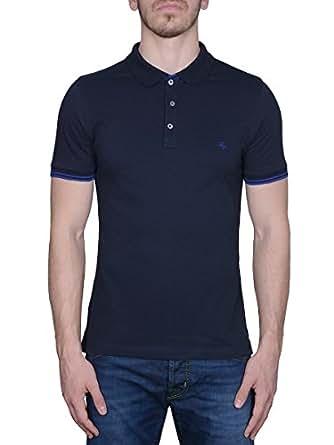 FAY 男人 B234134SITOU807 蓝色 棉 保罗衫 /