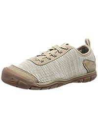 KEEN Hush Knit CNX 女士徒步鞋 Plaza Taupe/Silver Birch 6.5 M US
