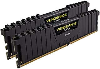 CORSAIR vengeance LPX 32 GB (2 x 16 GB) DDR 4 dram 2400 Mhz (PC 4 – 19200 ) C14内存套件 – 黑色( cmk32gx4 m2a2400 °C14 )