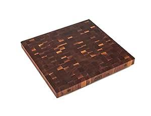 """核桃 END 粒5.08cm 宽 butcher BLOCK 岛上衣 Walnut Wood 24 x 25 x 4"""""""