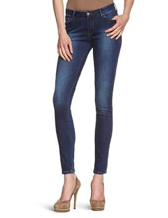 Cross Jeans Women's Skinny Fit Jeans - Blue - Blau (Dark Used) - 25/30 (Brand size: 25/30)