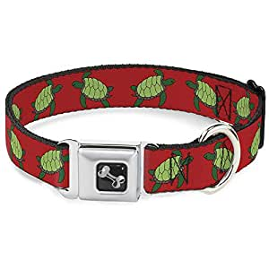 绿色盒装 turtles ON 橙色趣味动物*带宠物项圈 五彩 小号