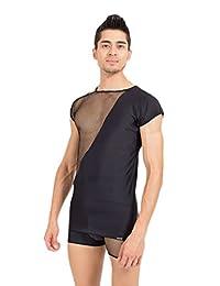 Look Me T 恤混纺;颜色:黑色,尺码:小号,1 件装