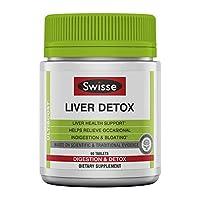 Swisse Ultiboost Liver Detox 奶薊、朝鮮薊和姜黃 60 粒