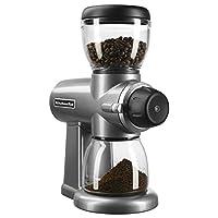 KitchenAid Burr Coffee Grinder KitchenAid Burr Coffee Grinder Contour Silver 需配變壓器