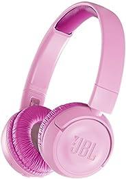 JBL JR300BT 儿童蓝牙耳机 配备音量控制功能/自定义贴纸 粉色 JBLJR300BTPIK
