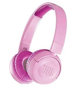 JBL 面向儿童 耳机 搭载音量控制功能/自定义贴纸JBLJR300BTPIK 无线(支持蓝牙)