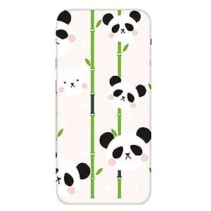 智能手机壳 透明 印刷 对应全部机型 cw-1026top 盖 熊猫 大衣 白熊 UV印刷 壳WN-PR402542 AQUOS SERIE SHL25 图案 A