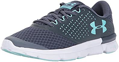 Under Armour 女式 SPEED Swift 2 Apollo Gray/Stealth Gray/Blue Infinity 5 B(M) US