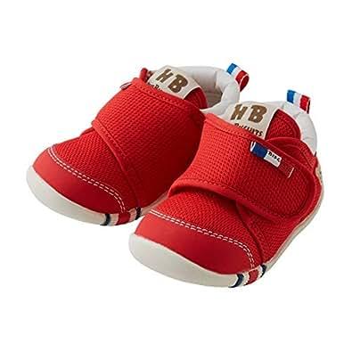 Miki House 中性童 休闲运动鞋 70-9317-265 红色2二段学步鞋 130