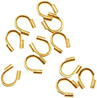 Beadaholique 螺纹保护珠宝配件,金色 50 件