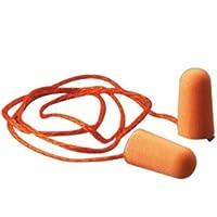 3M 1110子弹型带线耳塞 20付塑料大包装 降噪音耳塞 隔音耳塞 睡眠耳塞 工业粉尘耳塞