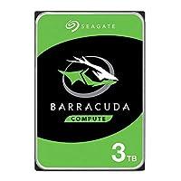 Seagate 希捷 Barracuda 内置硬盘 适用于电脑台式电脑 - 简易包装ST3000DMZ07/DM007  BarraCuda HDD 3TB