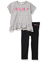 DKNY 女童裤子套装