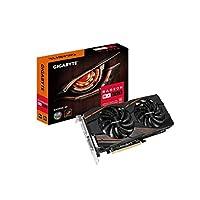 GIGABYTE 技嘉 AMD GV-RX580GAMING-4GD 4 GB GDDR5 256位内存 DVI/DP/HDMI PCI Express 3显卡 - 黑色