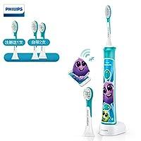 Philips 飞利浦 HX6322/04 Sonicare For Kids 儿童声波震动牙刷 蓝牙版(自带刷头*2)