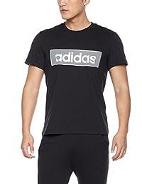 adidas 阿迪达斯 男式 运动型格 短袖T恤 GFX T LNR FLOC