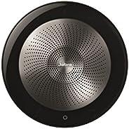 Jabra Speak 無線藍牙音箱和麥克風,適用于軟電話和手機 - Android 和 Apple 兼容7710-309 Microsoft Optimized 黑色