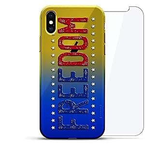 Luxendary 设计师保护玻璃套装手机壳 iPhoneLUX-IXCRM2B360-FREEDOM1 FLAGS: USA Freedom 蓝色(Dusk)