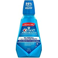 Crest Pro-Health Oral Rinse, Refreshing Clean Mint 250 mL Pack of 5