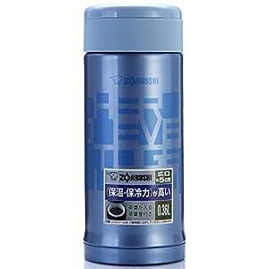 Zojirushi 象印 不锈钢真空保温杯 SM-AFE35-AH 360ml 浅蓝色