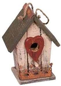 花园装饰 12038C 鸟巢,24.13 cm,奶油色