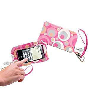 Charm14 Touchscreen Phone Wallet Everything Bag Wristlet Italiano 7x4x.5 inches